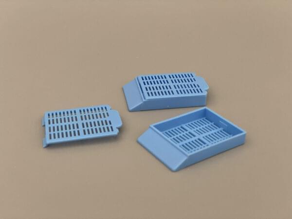 Гистологические кассеты разборные голубые