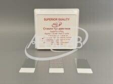 Стекло предметное 75*25*1,1 с адгезивным электростатическим покрытием