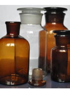 Склянки, узкое горло ( светлые, темные, ISO 9002)